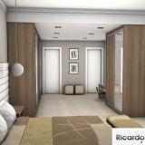 Dormitorio e Closet, Luis Alberto, Guaratingueta, SP