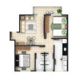 Layout Residencial Girassol, Guaratingueta, SP