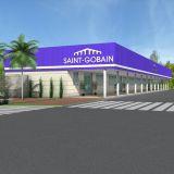 Saint-Gobain, Setor Administrativo. Lorena, SP
